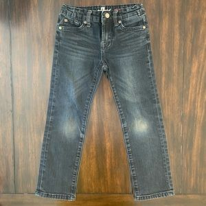7 For All Mankind boys dark wash jeans